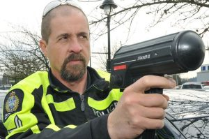 'Darth Radar' switches from handing out speeding tickets to helping the defence  Gordon McIntyre